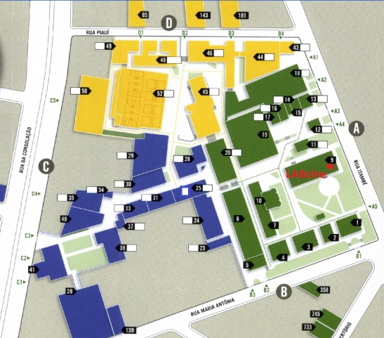 Mapa Labcine2